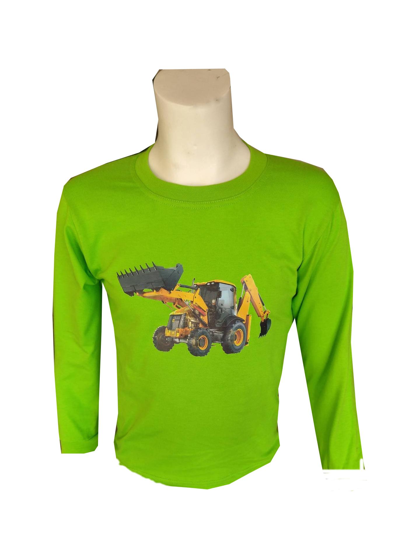 aa02e2e2dac7 Tričko s dlouhým rukávem – zelené