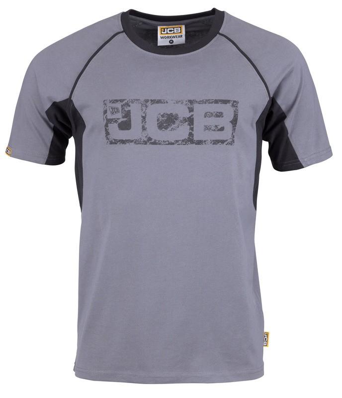 tričko JCB šedé