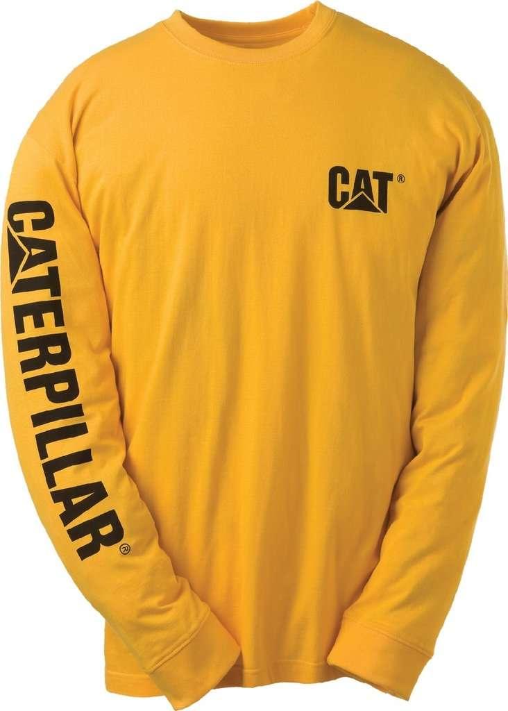 mikina CAT žlutá