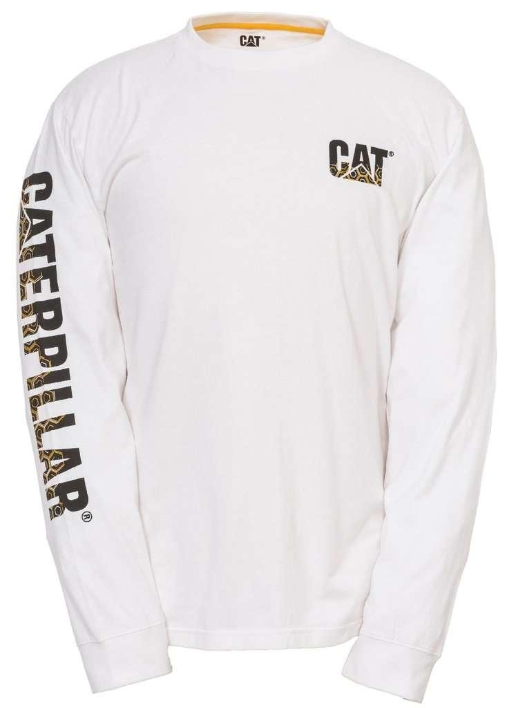 mikina CAT bílá
